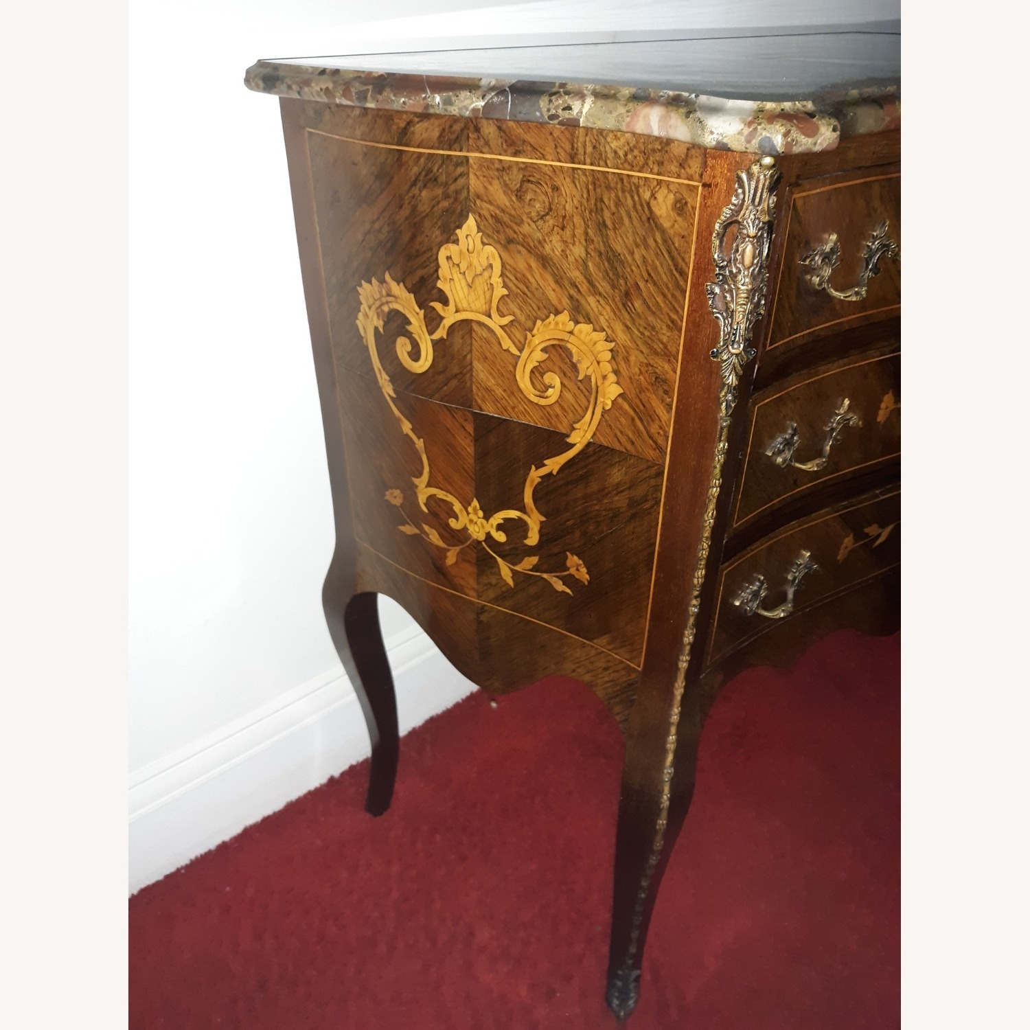 French Provincial Louis XV Commode - image-9