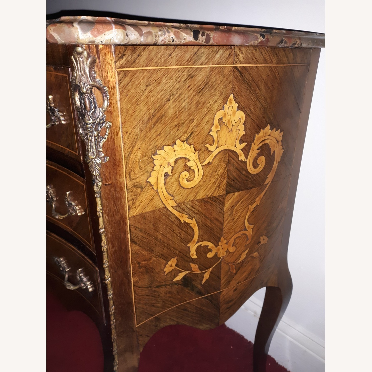 French Provincial Louis XV Commode - image-8