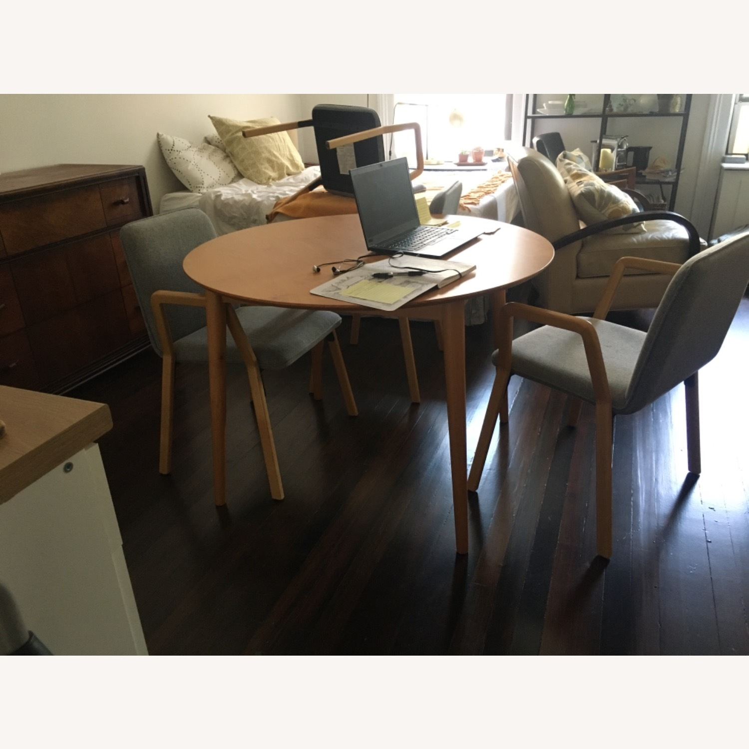 West Elm Mid Century Design Dining Chairs - image-7