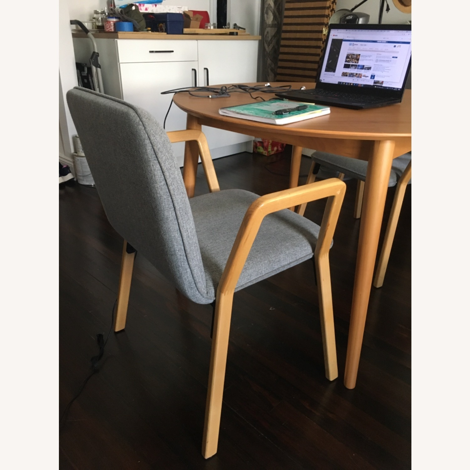 West Elm Mid Century Design Dining Chairs - image-11
