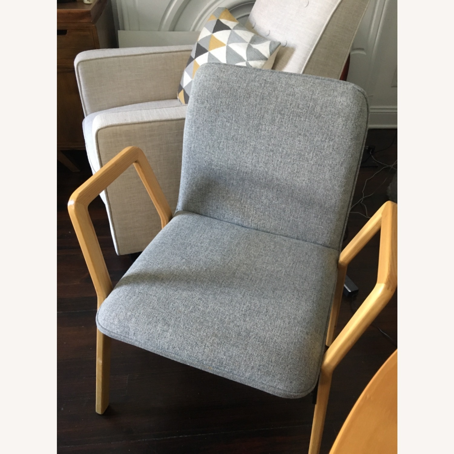 West Elm Mid Century Design Dining Chairs - image-9