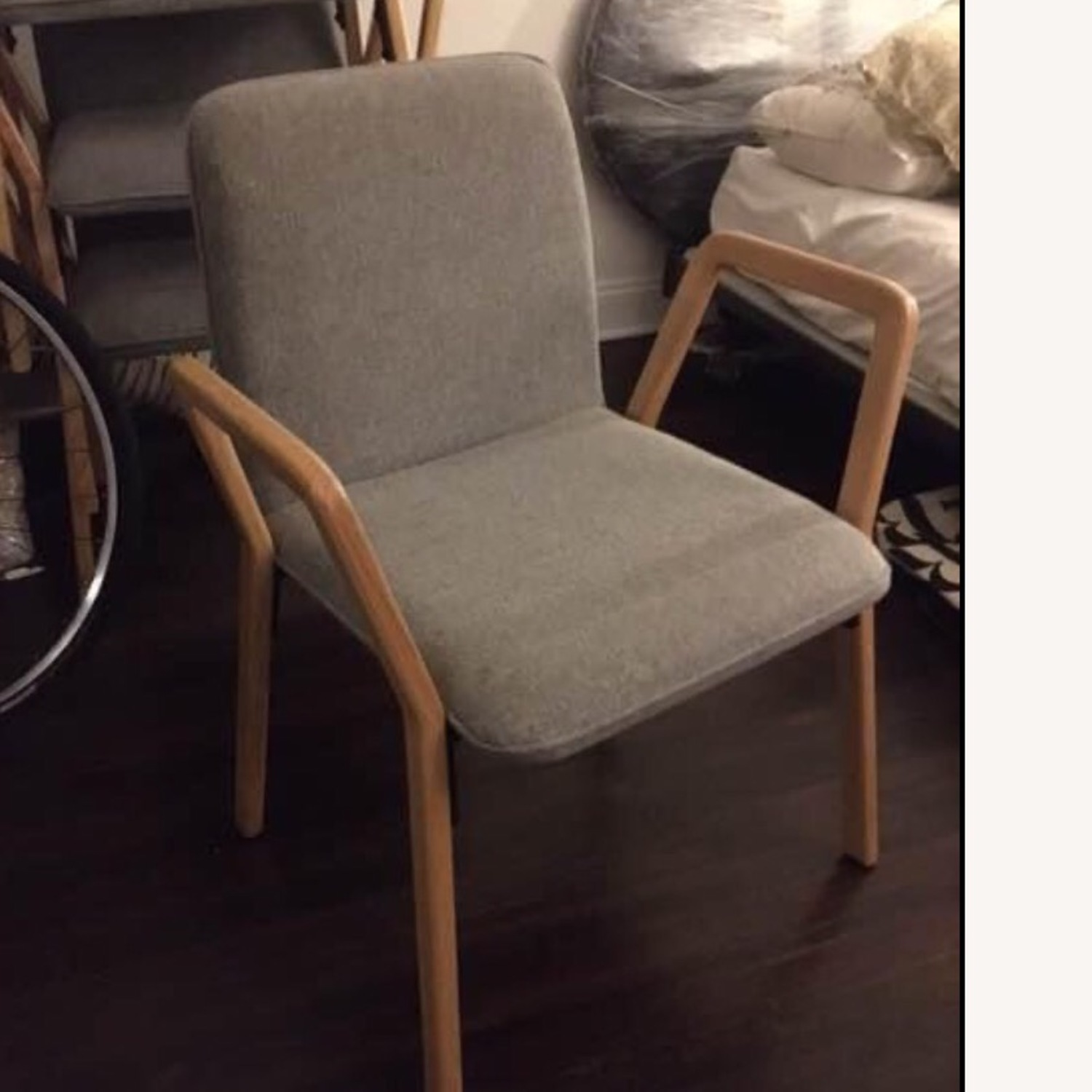 West Elm Mid Century Design Dining Chairs - image-3