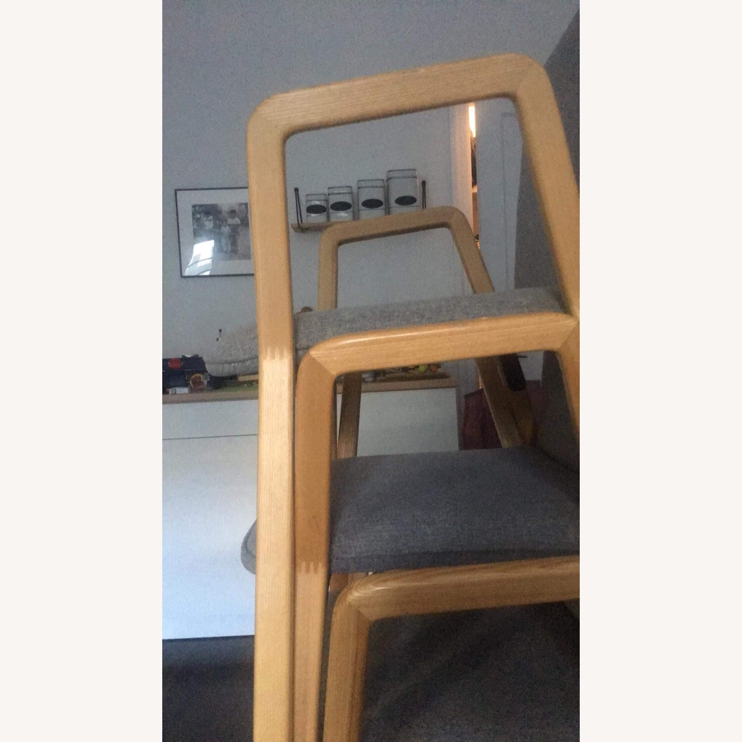 West Elm Mid Century Design Dining Chairs - image-4