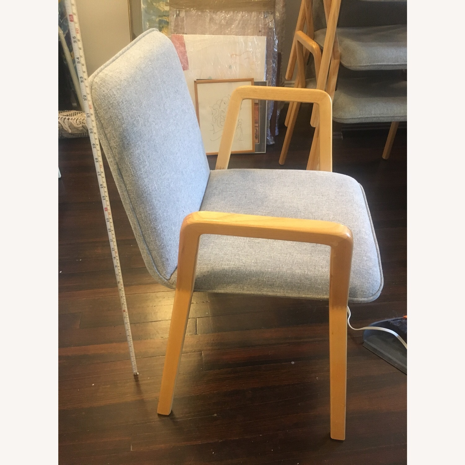 West Elm Mid Century Design Dining Chairs - image-2