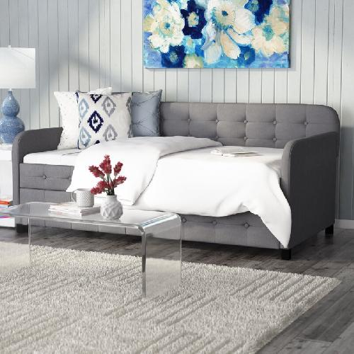 Used Andover Mills Twin Daybed with Trundle for sale on AptDeco