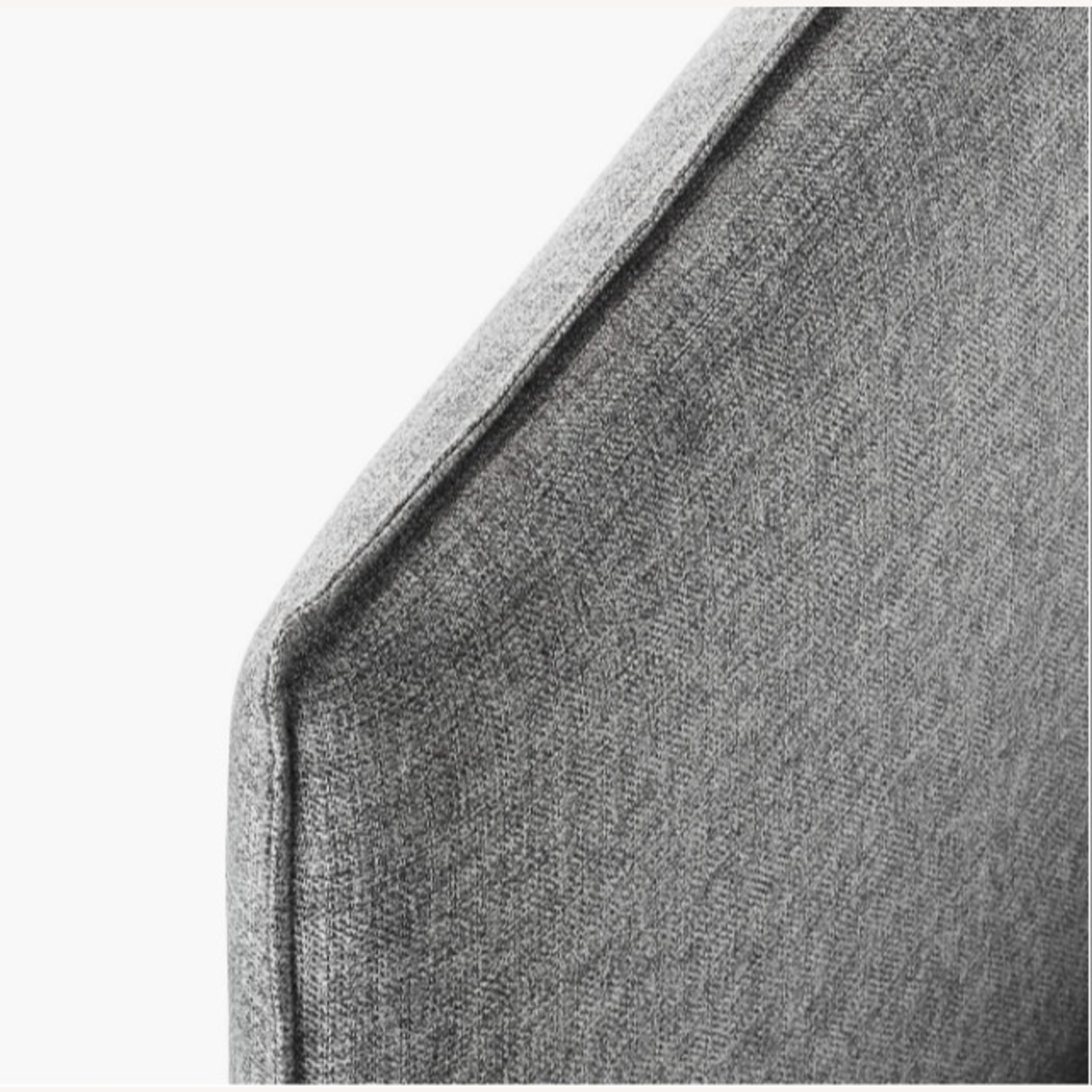 CB2 Gray Queen Bed Frame - image-2