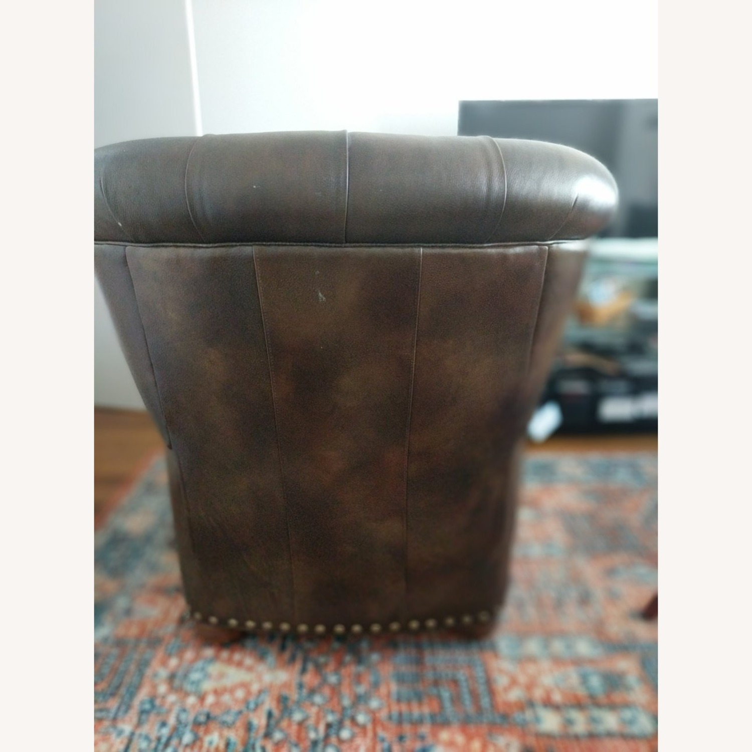 Ethan Allen Leather Recliner Chair (2 avail) - image-5