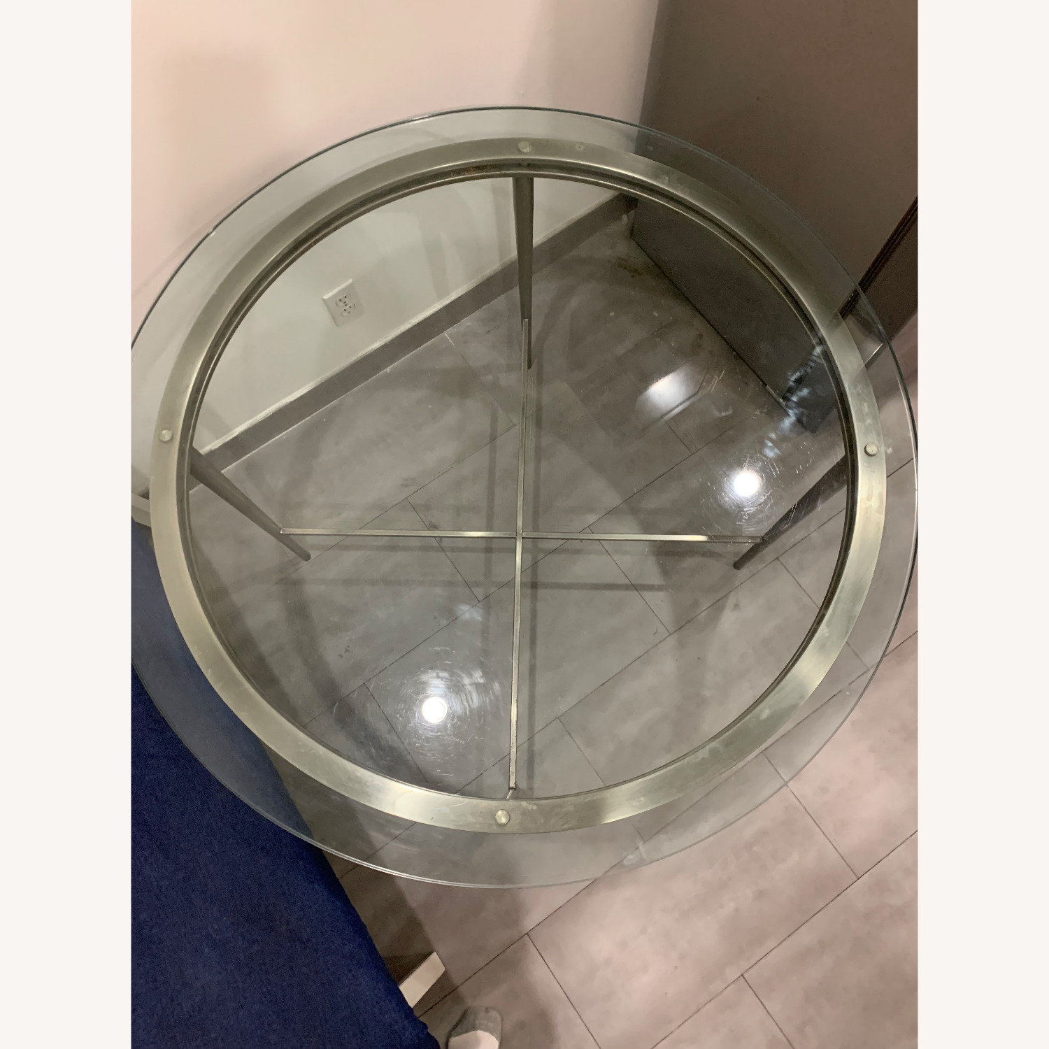 Round Glass Dining Table - image-5