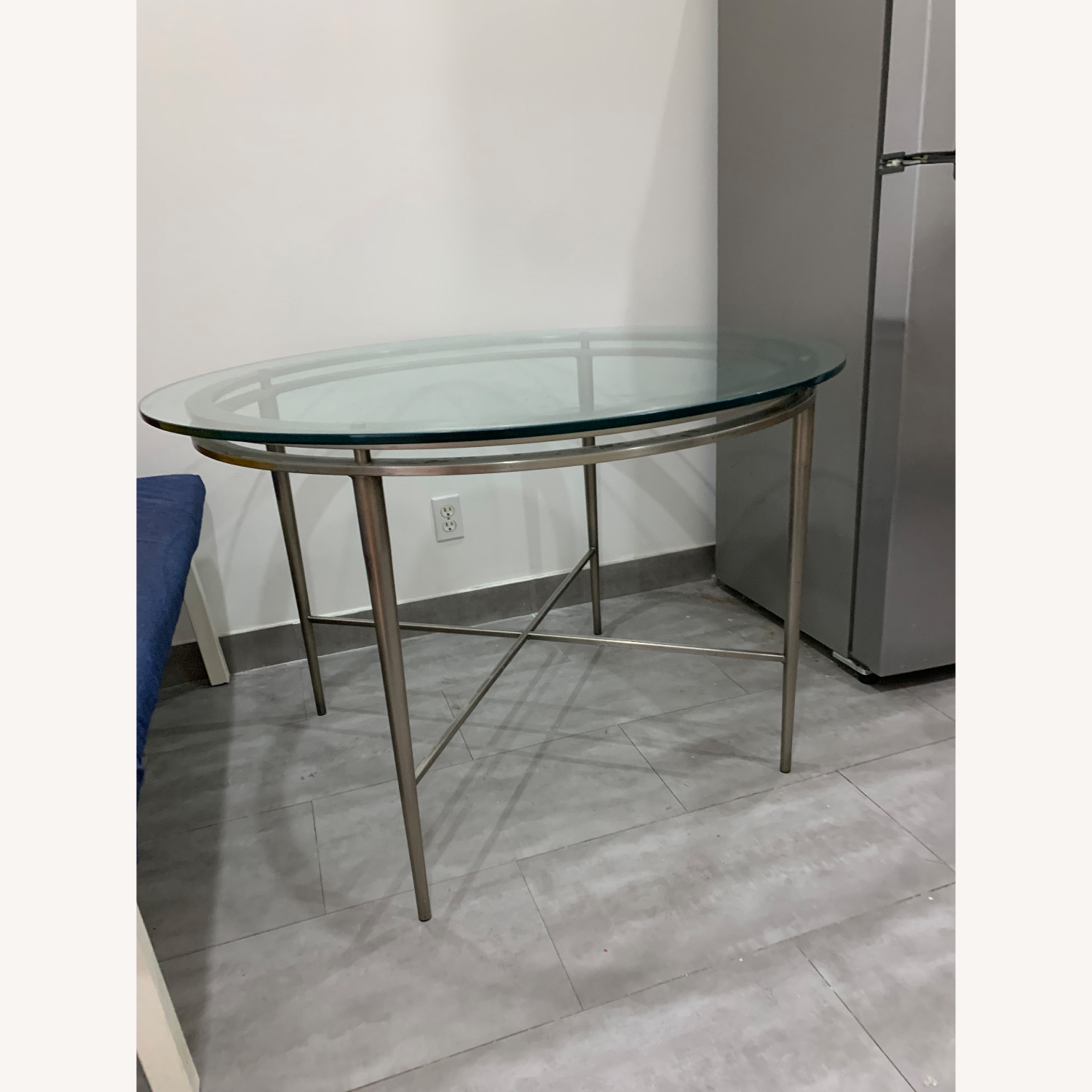 Round Glass Dining Table - image-2