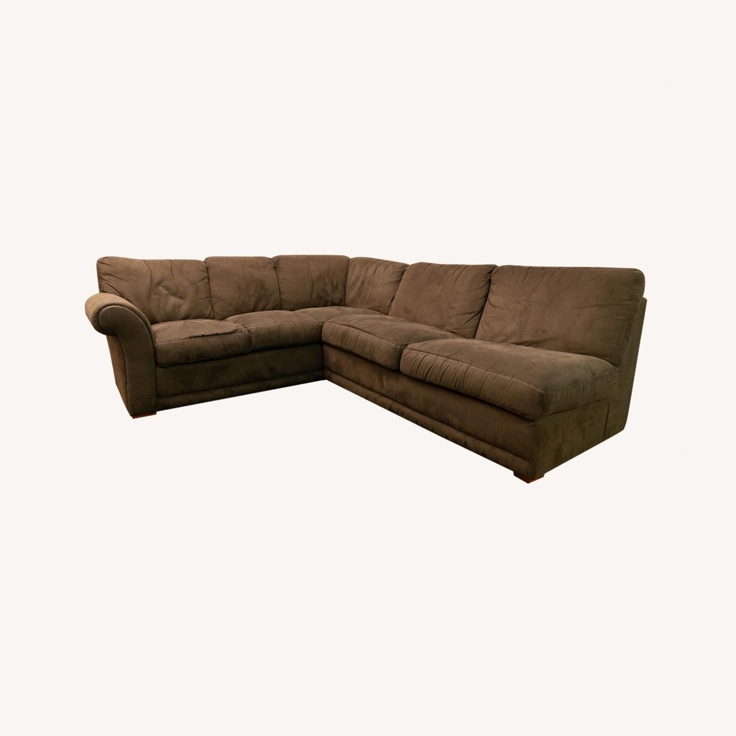 Super Comfortable Sectional Couch - image-0