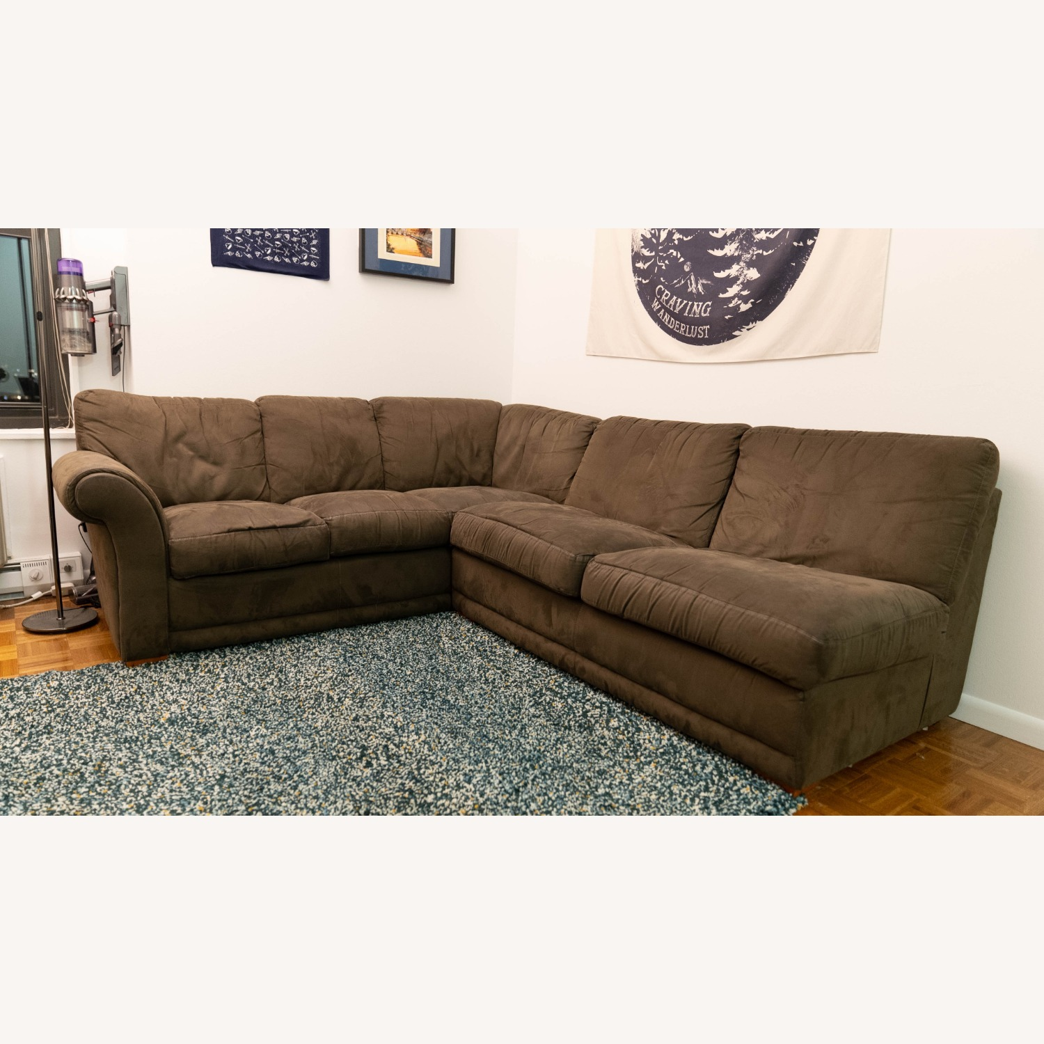 Super Comfortable Sectional Couch - image-1