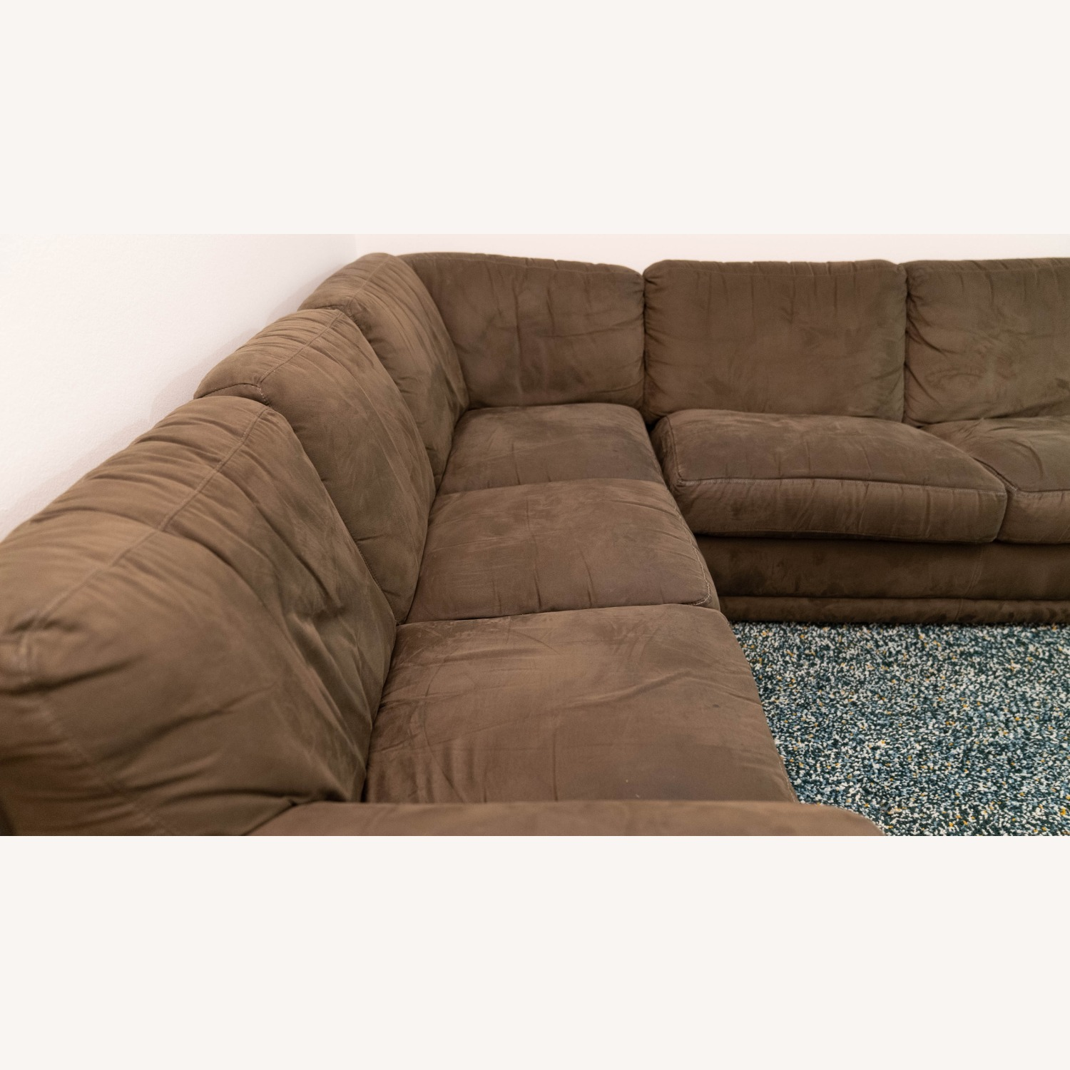 Super Comfortable Sectional Couch - image-4