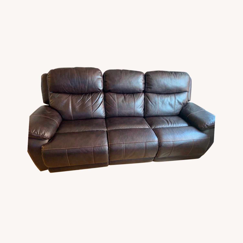 Raymour & Flanigan Reclining Sofa - image-0