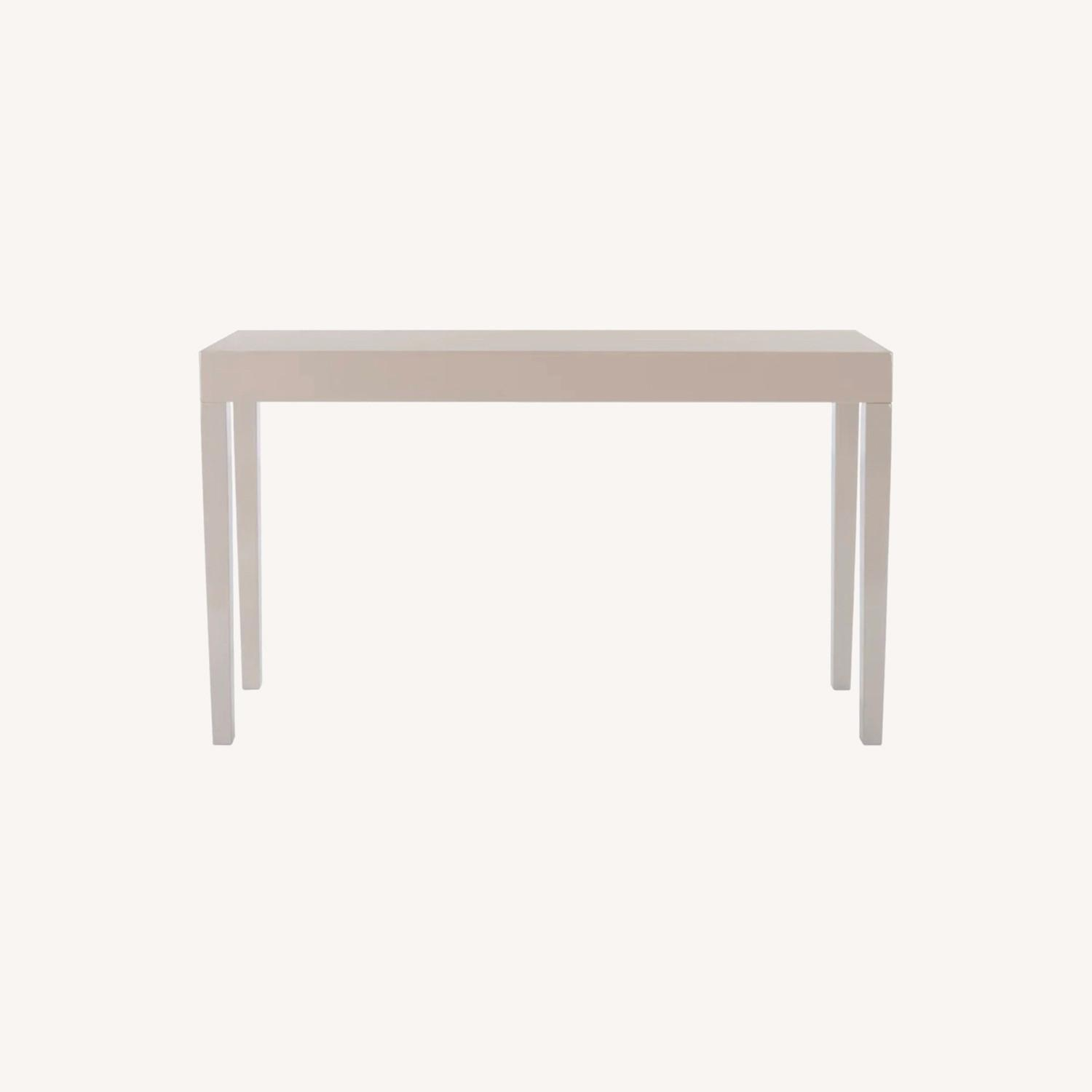 Wayfair Modern Taupe Console/Entry Table - image-0
