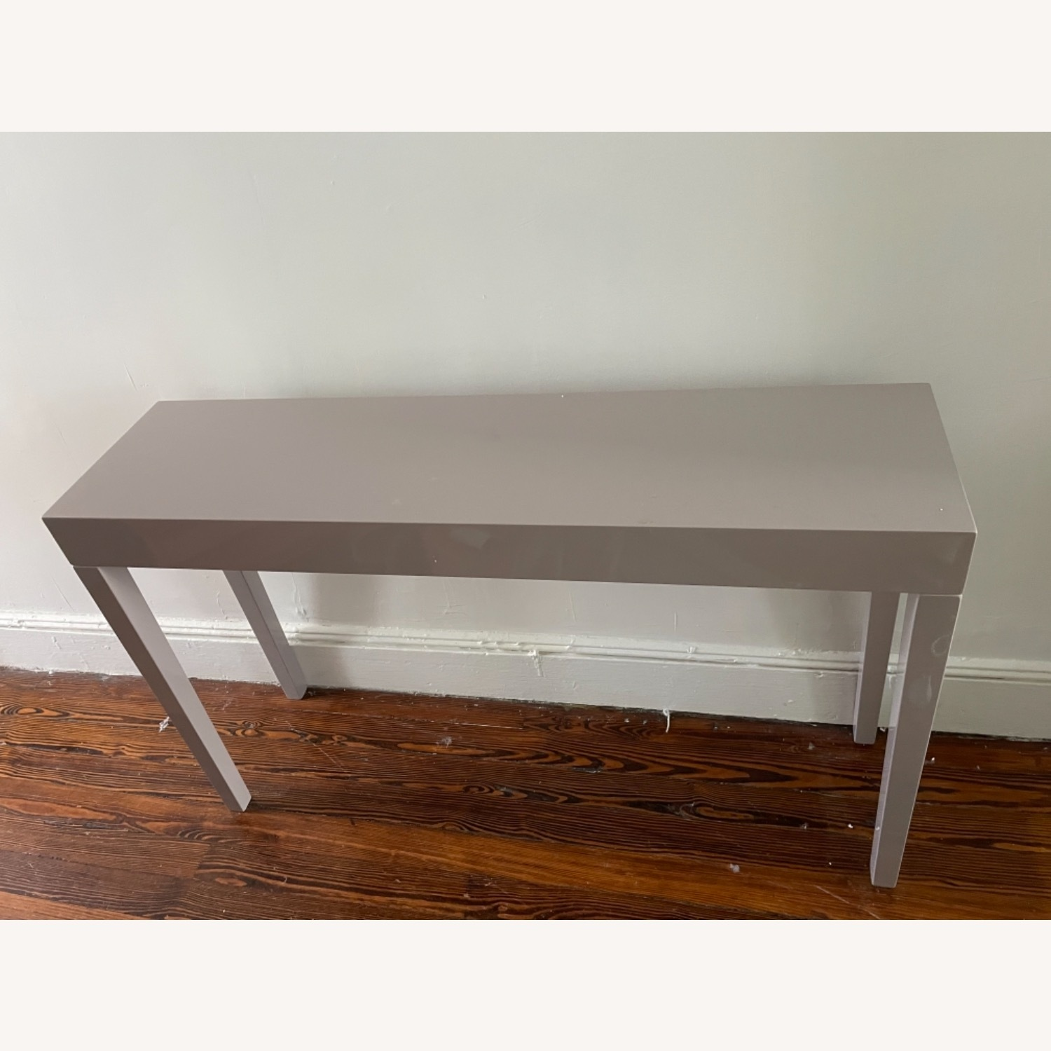 Wayfair Modern Taupe Console/Entry Table - image-1