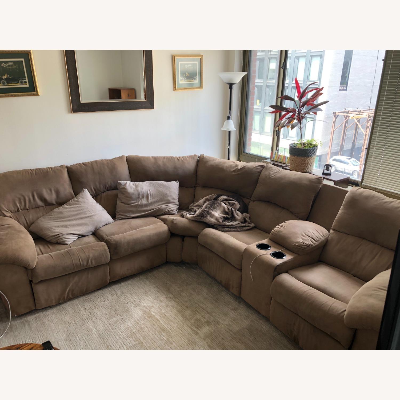 Ashley Furniture Amazon Reclining Sectional Sofa - image-2