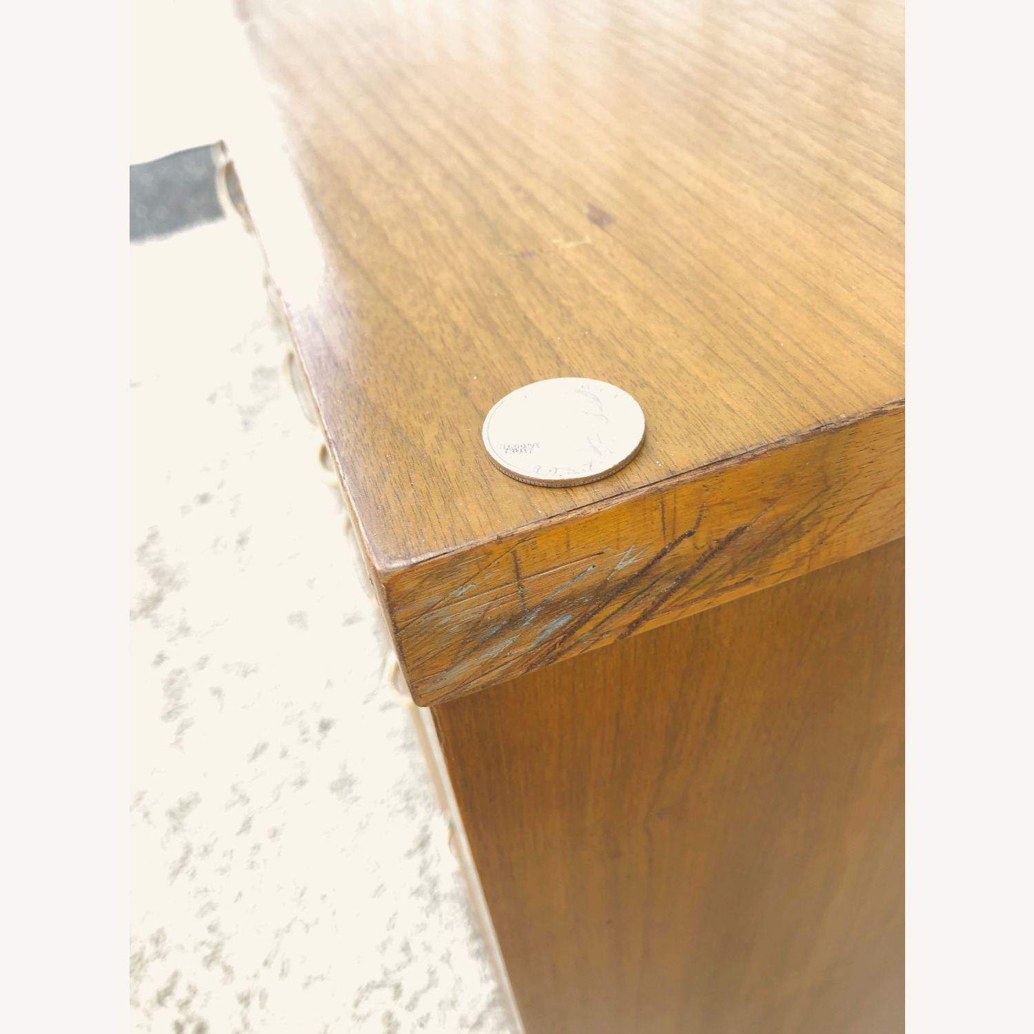 Mid Century Broyhill Lowboy with Brass - image-26