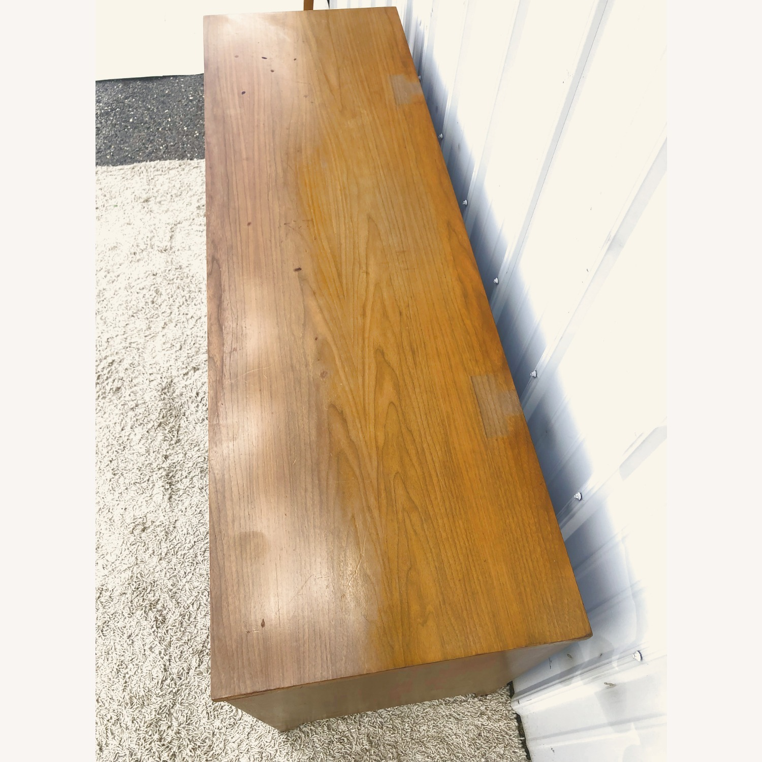 Mid Century Broyhill Lowboy with Brass - image-6
