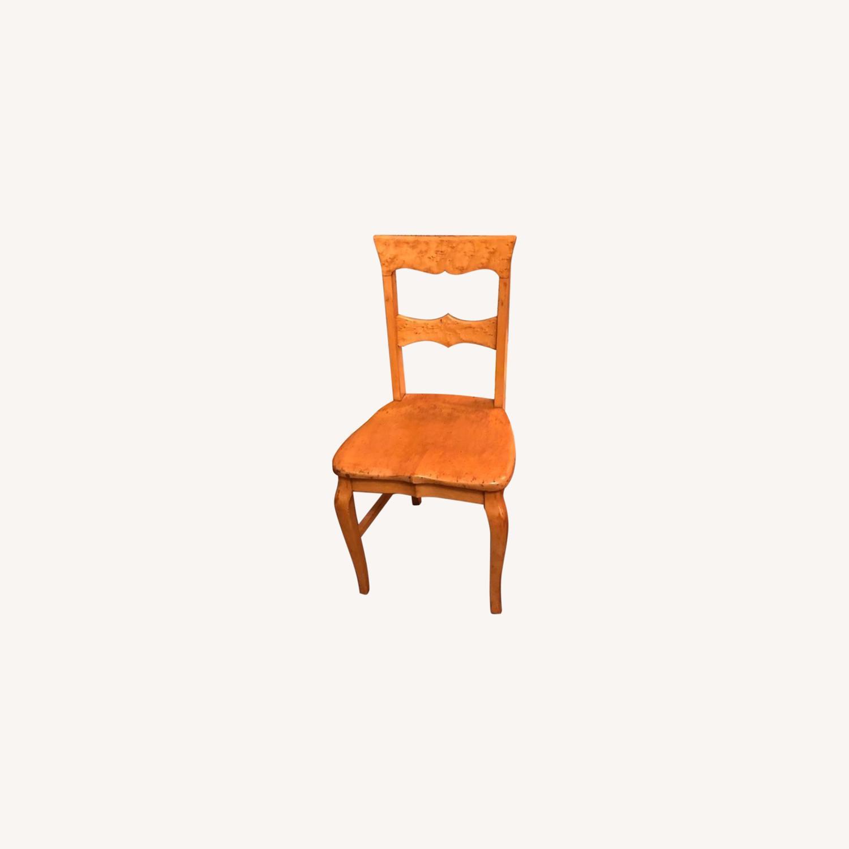 Antique Birdseye Maple Side Chair - image-0