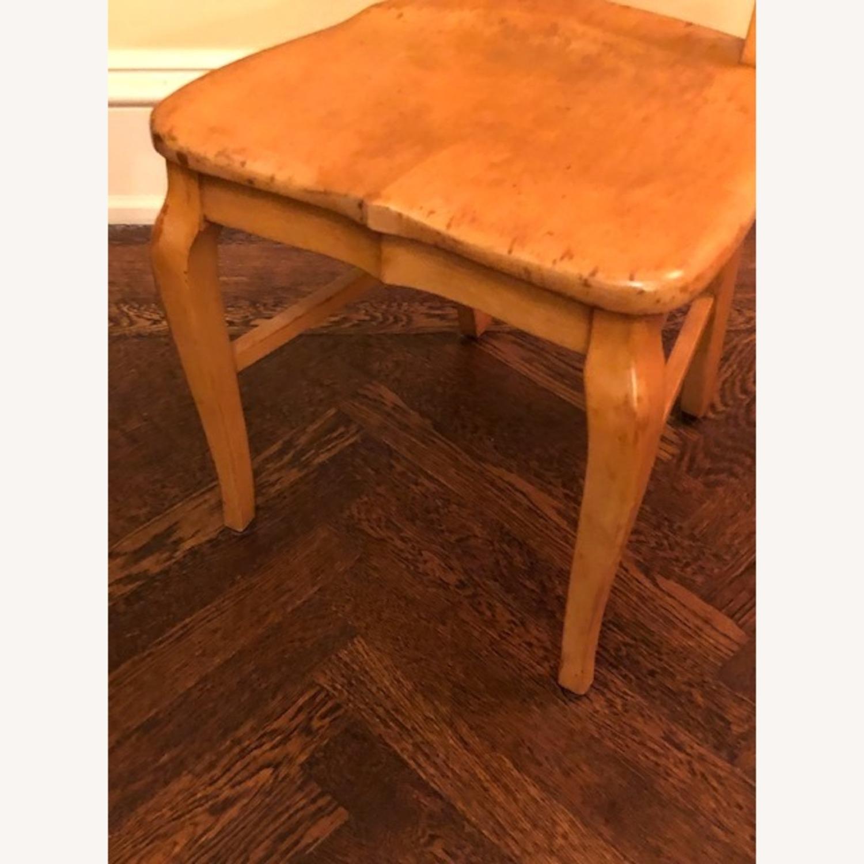 Antique Birdseye Maple Side Chair - image-3
