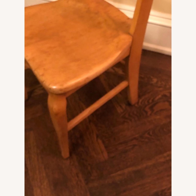 Antique Birdseye Maple Side Chair - image-5