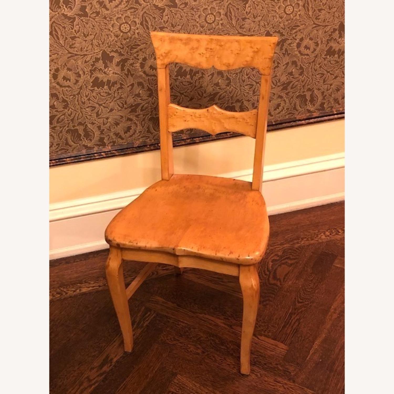 Antique Birdseye Maple Side Chair - image-1