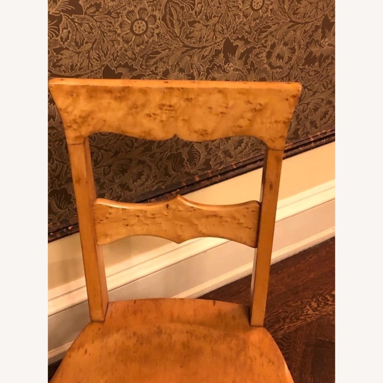 Antique Birdseye Maple Side Chair - image-4