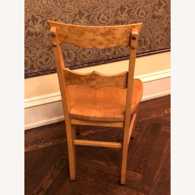 Antique Birdseye Maple Side Chair - image-2