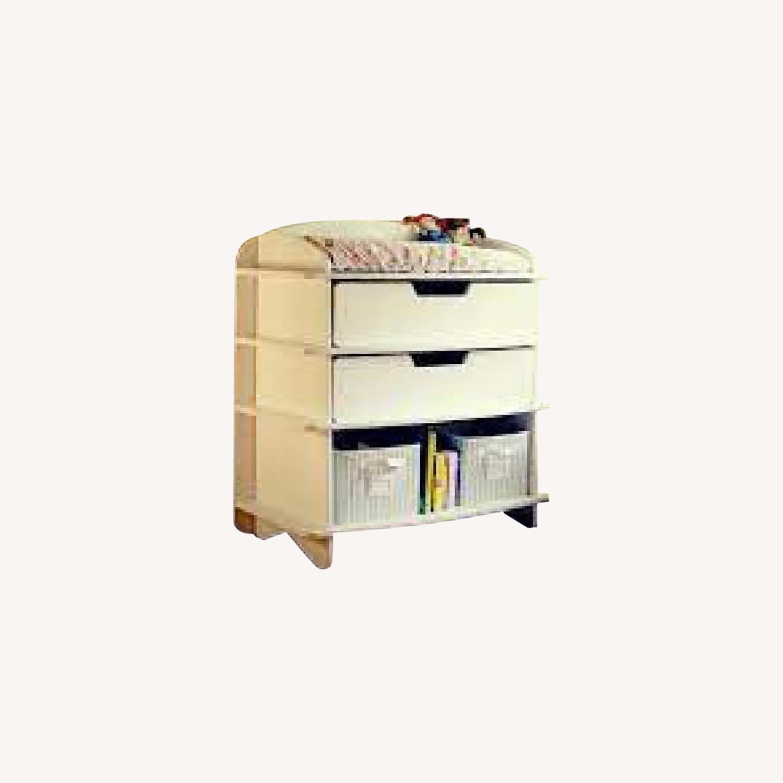 Sodura White AERO Dresser / Changing Table - image-0
