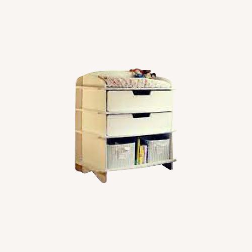 Used Sodura White AERO Dresser / Changing Table for sale on AptDeco