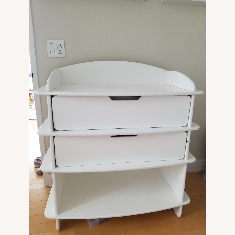 Sodura White AERO Dresser / Changing Table - image-1
