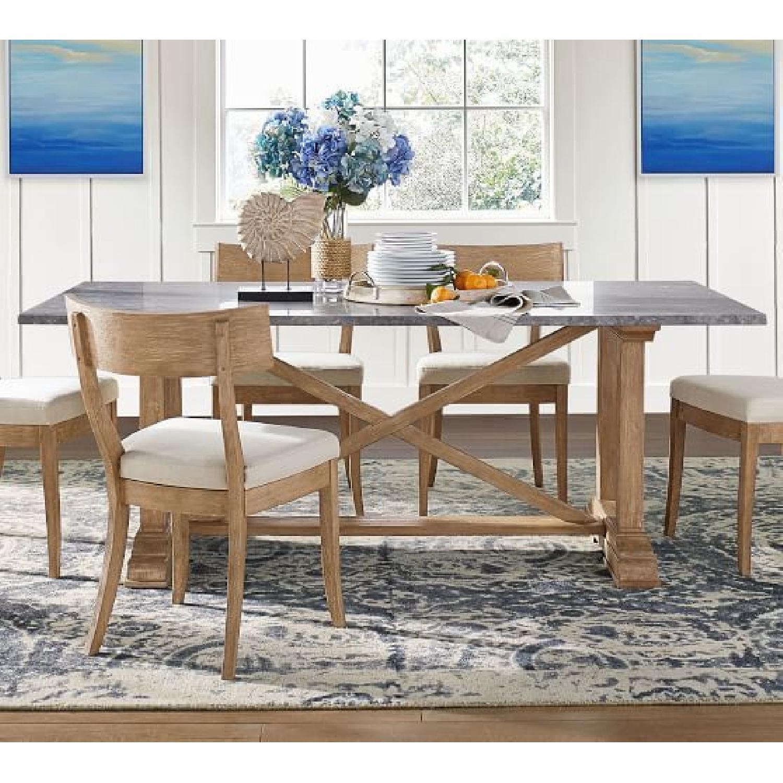 Pottery Barn Chamberlain Dining Table Set - image-4