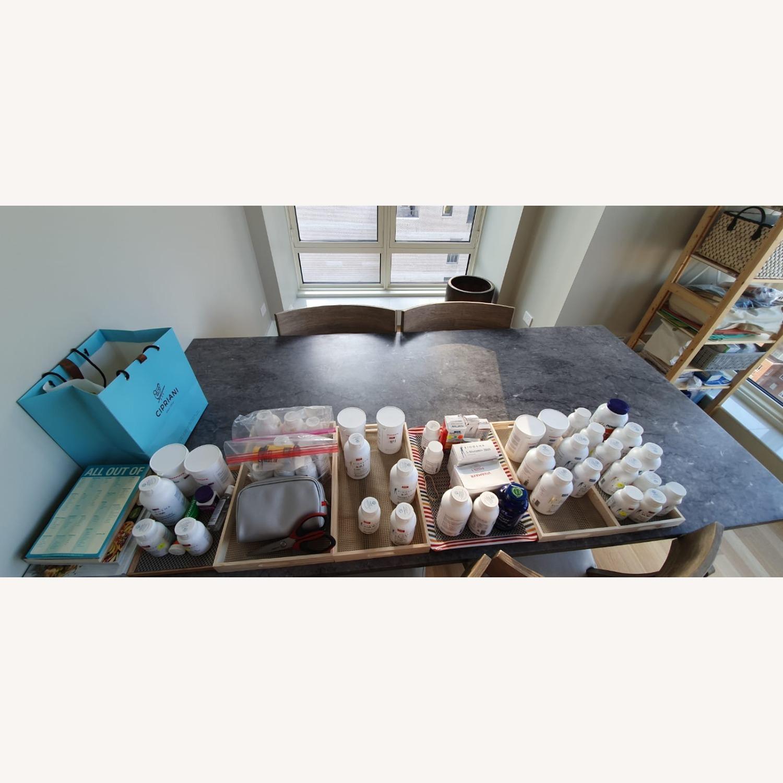 Pottery Barn Chamberlain Dining Table Set - image-2