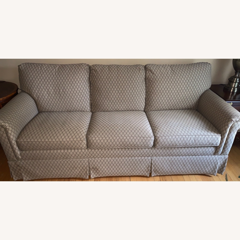 Ethan Allen Paramount Sofa, Decorative Pleat - image-2