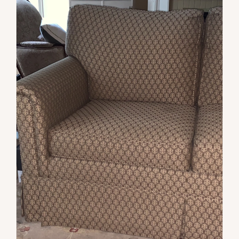 Ethan Allen Paramount Sofa, Decorative Pleat - image-1