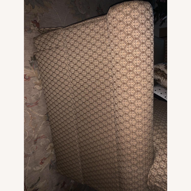 Ethan Allen Paramount Sofa, Decorative Pleat - image-3