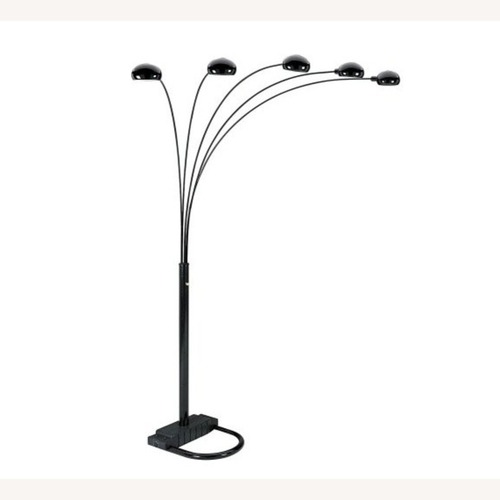 Used Houzz Unique Modern 5 Armed Arch Floor Lamp for sale on AptDeco