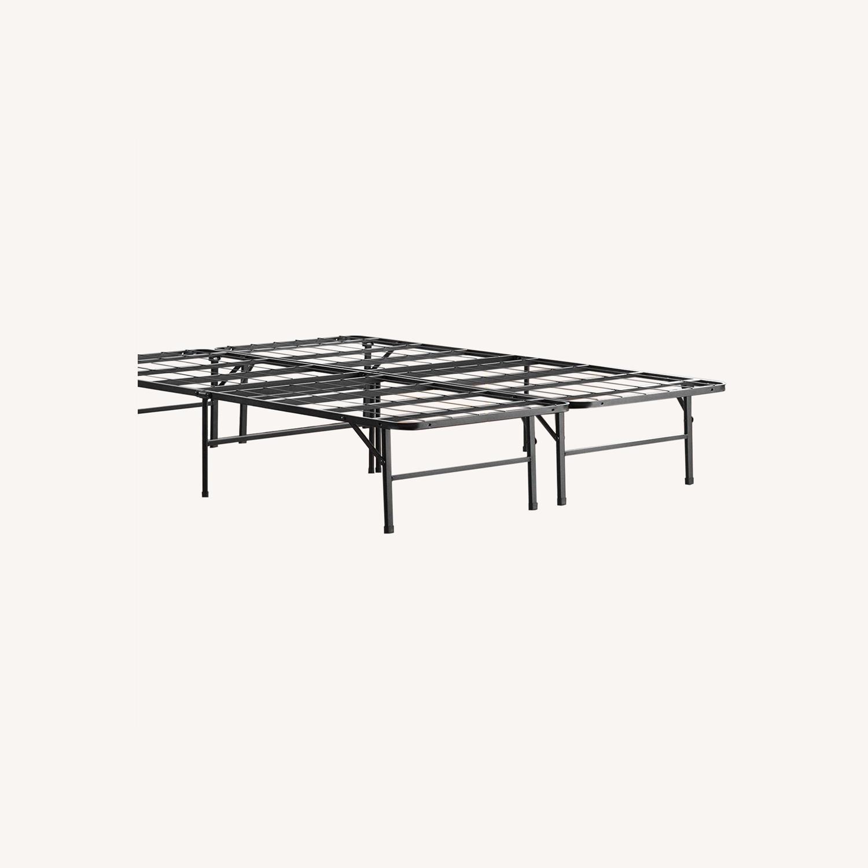Top-Line Linenspa 14 Inch Folding Metal Platform Bed Frame - image-0