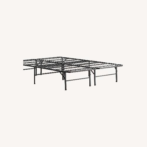 Used Top-Line Linenspa 14 Inch Folding Metal Platform Bed Frame for sale on AptDeco