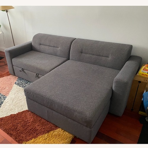 Used AllModern Sleeper Sofa & Chaise for sale on AptDeco