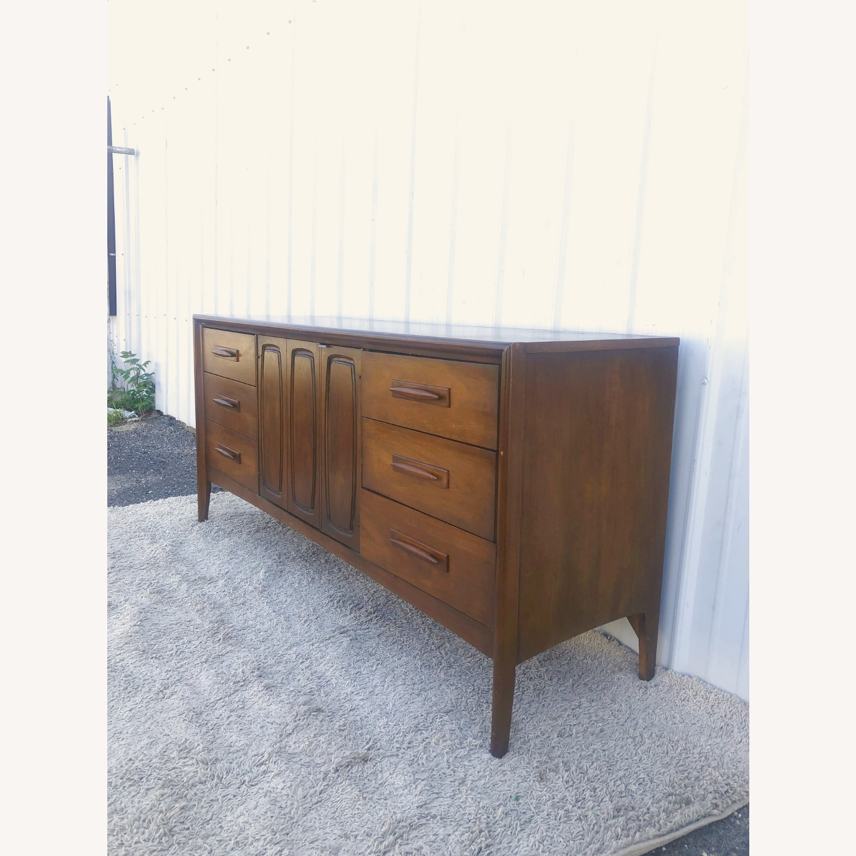 Mid Century Lowboy Dresser Emphasis by Broyhill - image-6