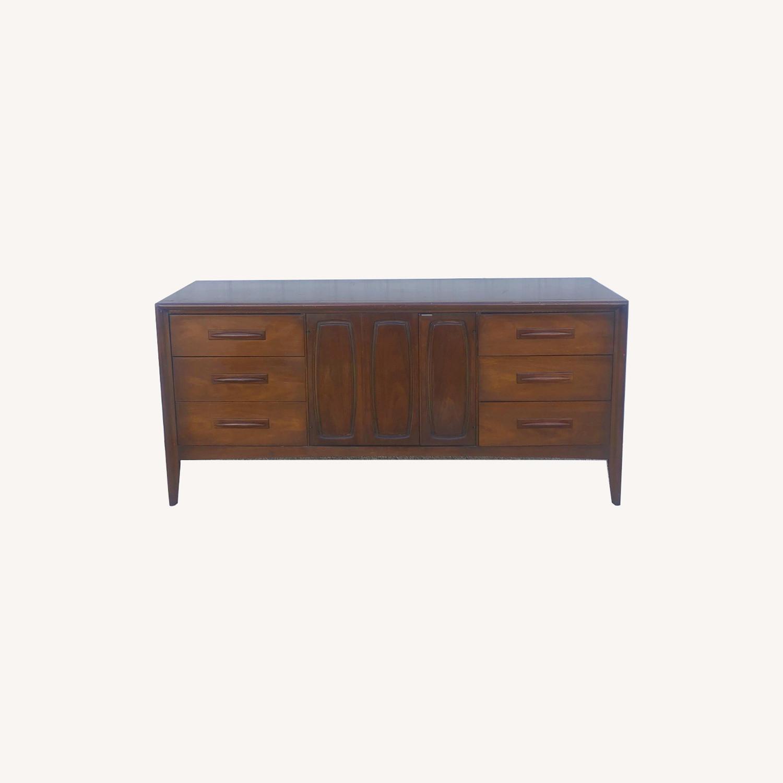 Mid Century Lowboy Dresser Emphasis by Broyhill - image-0