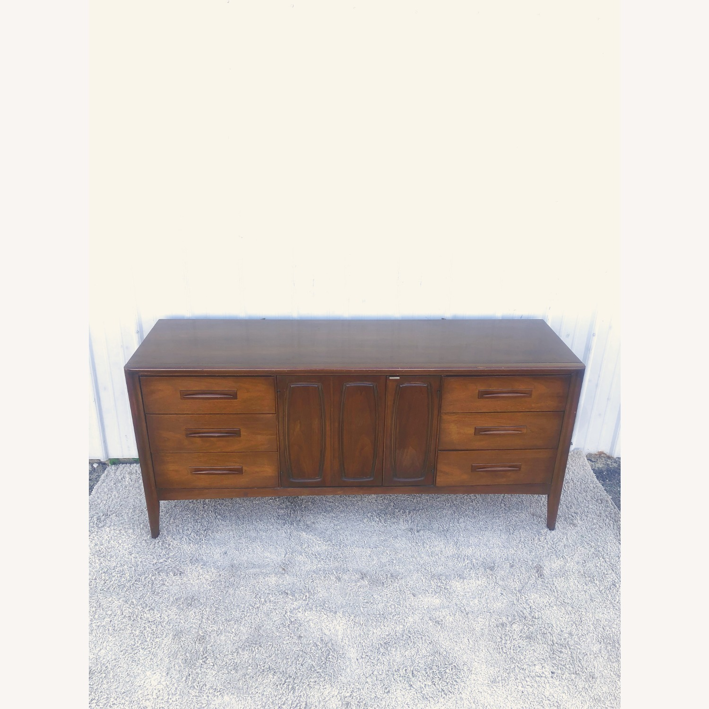 Mid Century Lowboy Dresser Emphasis by Broyhill - image-10