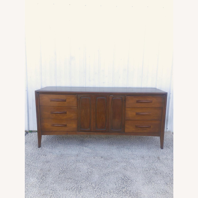 Mid Century Lowboy Dresser Emphasis by Broyhill - image-21