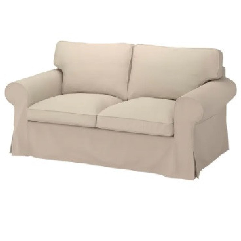 IKEA UPPLAND 2-Seat Beige Sofa - image-4
