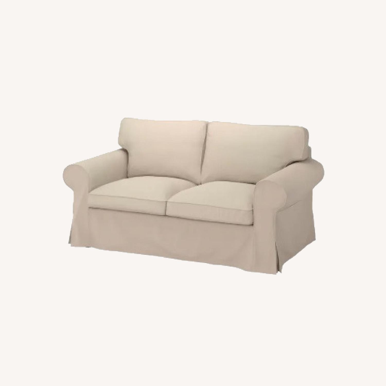 IKEA UPPLAND 2-Seat Beige Sofa - image-0
