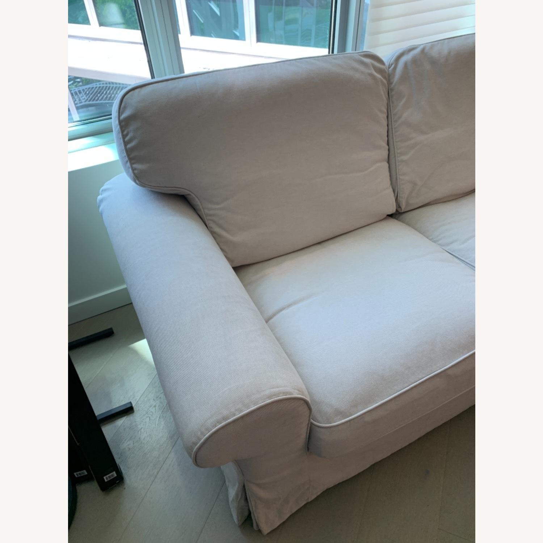 IKEA UPPLAND 2-Seat Beige Sofa - image-3
