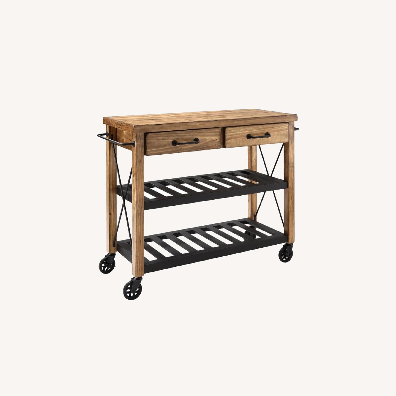 Crosley Furniture Wooden Kitchen Cart - image-0