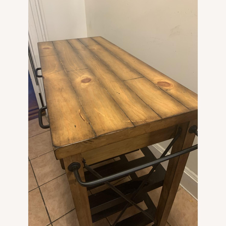 Crosley Furniture Wooden Kitchen Cart - image-2