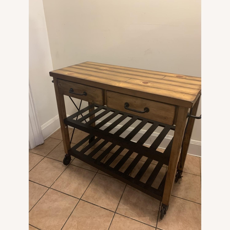 Crosley Furniture Wooden Kitchen Cart - image-1